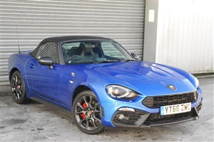 Large image for the Used Abarth Abarth 124 Convertible 2-Door 1.4 Multiair (170bhp) Spider Roadster 2dr