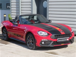 Large image for the Used Abarth 124 Spider Multiair Roadster 2dr