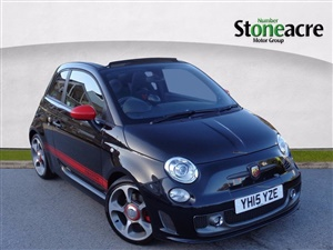 Large image for the Used Abarth 595C 1.4 T-Jet Competizione Convertible 2dr Petrol MTA (151 g/km, 160 bhp)