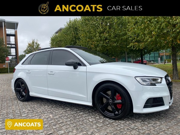 Audi s3 saloon black edition