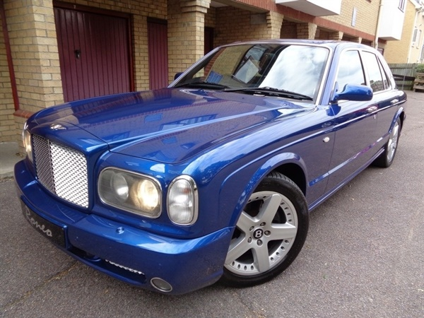 Large image for the Used Bentley BENTLEY ARNAGE T 6.8 TWIN TURBO 2003,IN MOROCCAN BLUE 4dr