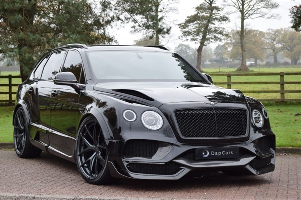 Large image for the Used Bentley Onyx Concept GTX 4x4 Bentayga V8