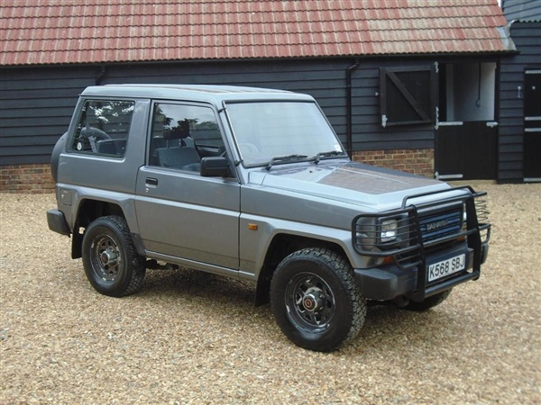 Large image for the Used Daihatsu Fourtrak