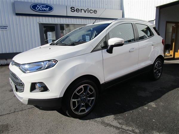 Ford Ecosport £16,550 - £22,200