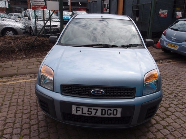 used 2007 petrol ford fusion in blue 40 200 miles for sale in sheffield for 2 995 autovillage. Black Bedroom Furniture Sets. Home Design Ideas