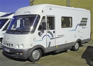 Large image for the Used Hymer B584
