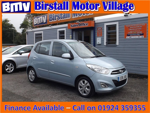 Used 2011 Hyundai I10 1 2 Active Hatchback 64 476 Miles In