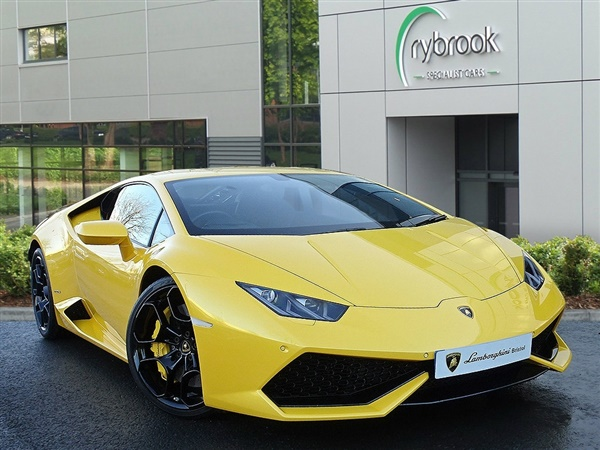 used 2015 lamborghini huracan 5 2 lp 610 4 auto seq 4wd 2dr for sale in bristol for 163 849. Black Bedroom Furniture Sets. Home Design Ideas