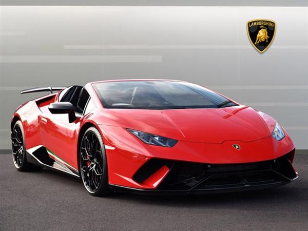Large image for the Lamborghini Huracan Spyder