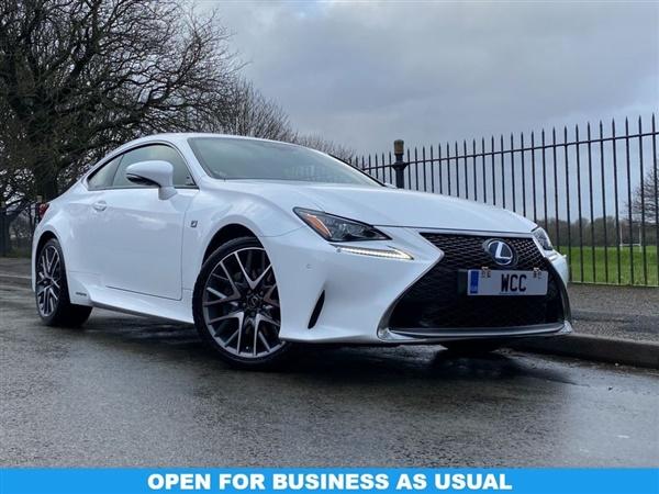 Lexus Rc £48,991 - £64,990