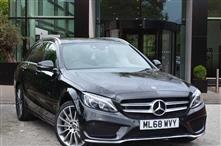 Mercedes Benz C Class C250d 4Matic AMG Line Premium 5dr Auto Semi