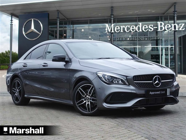 used 2017 diesel mercedes benz cla class in unknown 7 500 miles for sale in winchester for. Black Bedroom Furniture Sets. Home Design Ideas