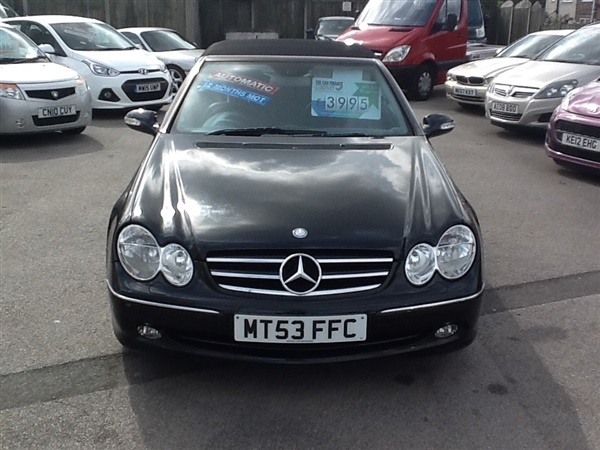 Large image for the Used Mercedes-Benz CLK