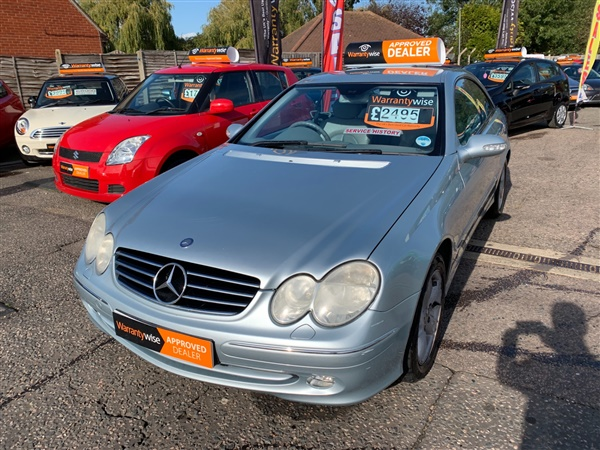 Large image for the Mercedes-Benz CLK
