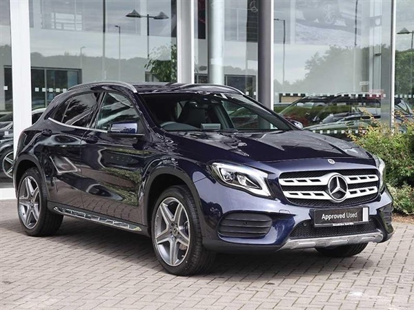 Range Rover Used For Sale >> Used 2017 Mercedes-Benz GLA Class GLA 200 d AMG Line Automatic in Cavansite blue Metallic for ...
