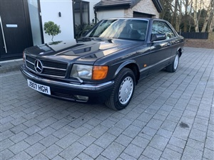 Large image for the Used Mercedes-Benz SEC series