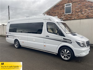 Large image for the Used Mercedes-Benz McLAREN SHADOW - SPRINTER 314 CDI XTRA LONG 4 BERTH CAMPERVAN