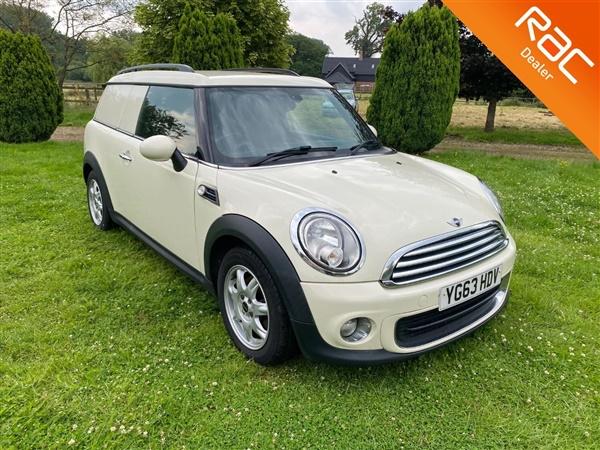 Mini Clubvan £8,995 - £10,495