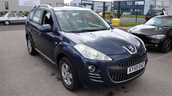 Peugeot 4007 £4,416 - £5,750