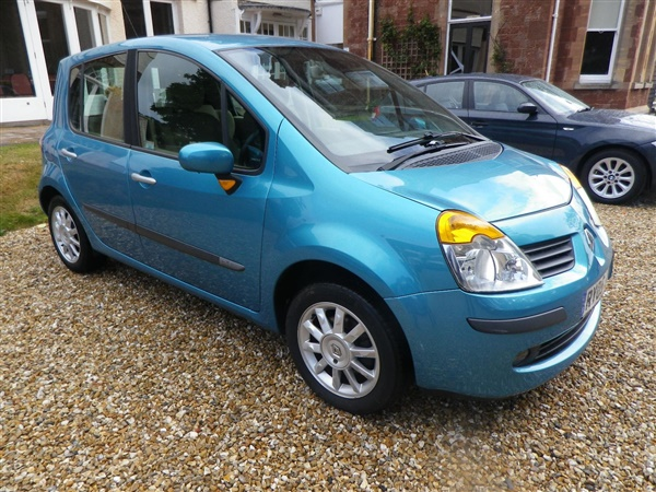used 2005 renault modus 1 5 dci 80 privilege in blue for sale in minehead for 1 995. Black Bedroom Furniture Sets. Home Design Ideas