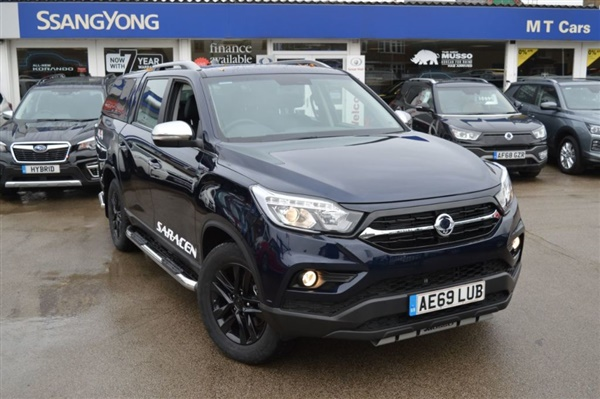 Large image for the Ssangyong Musso