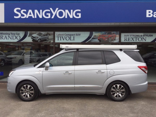 Used 2017 Diesel Ssangyong Turismo In Silver 6 Miles For