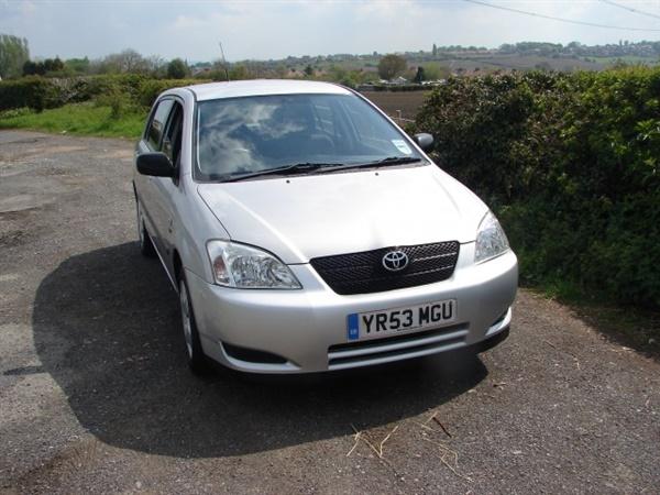 My 2003 T3 Toyota Corolla
