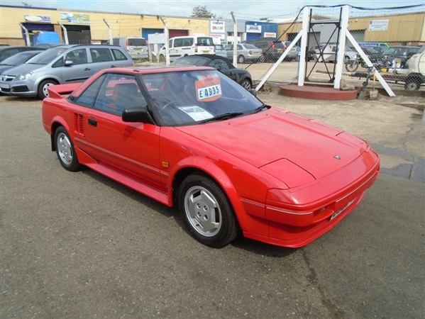 used 1986 petrol toyota mr2 in red 53 039 miles for sale in eastbourne for 4 995 autovillage. Black Bedroom Furniture Sets. Home Design Ideas