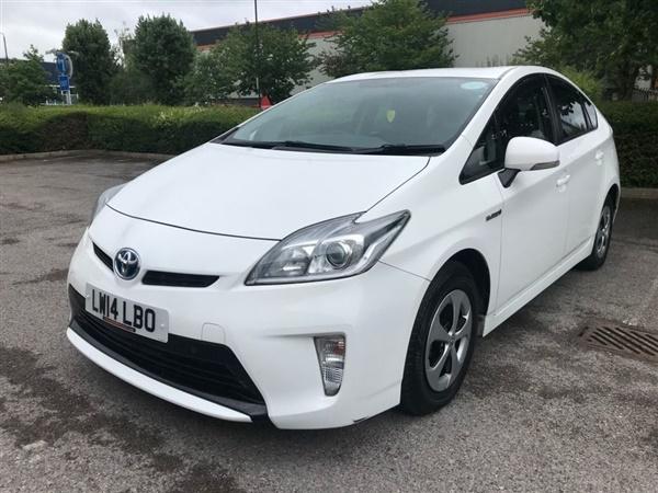 Toyota Prius, 2014 ((14)) White Hatchback, Automatic Hybrid, 91,548 miles ((BIMTA CERTIFIED))