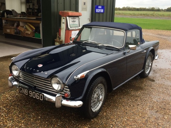 Large image for the Used Triumph TR4A