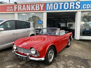 Large image for the Used Triumph TR4