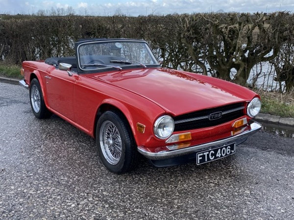 Large image for the Triumph TR6
