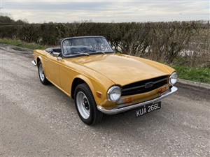 Large image for the Used Triumph TR6